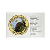 North Cascades NP (Bald Eagle) Rectangle Magnet