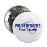 Police Proud Daughter Button