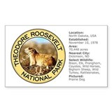 Theodore Roosevelt NP (Prairie Dog) Decal