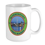 State of Washington Free Mason Large Mug