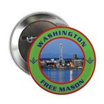 State of Washington Free Mason Button