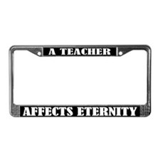 Teaching License Plate Frame