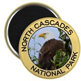 North Cascades NP (Bald Eagle) Magnet