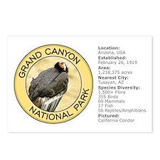 Grand Canyon NP (California Condor) Postcards (Pac