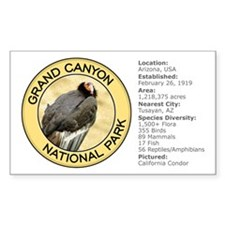 Grand Canyon NP (California Condor) Decal