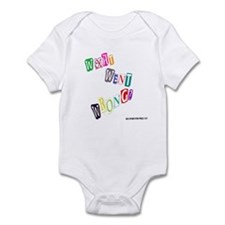 What Went Wrong? Infant Bodysuit