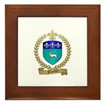 FUSELIER Family Crest Framed Tile