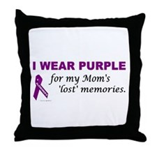 My Mom's Lost Memories Throw Pillow