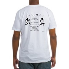 Recipe for a Marathoner Shirt
