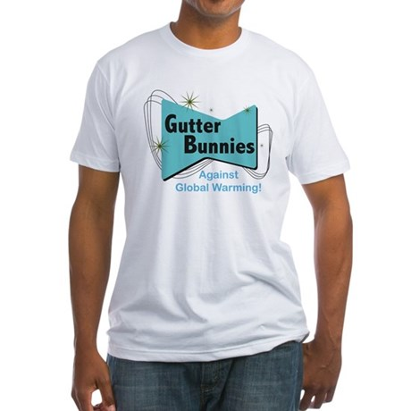 Gutter Bunny Fitted T-Shirt