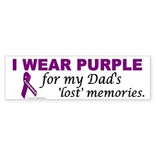 My Dad's Lost Memories Bumper Bumper Sticker