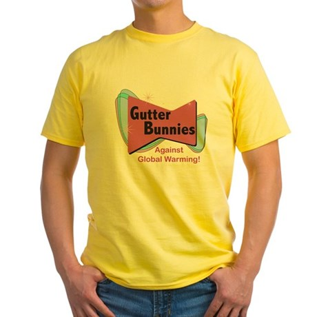 Gutter Bunny Yellow T-Shirt