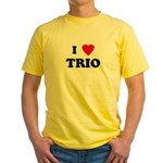 I Love TRIO Yellow T-Shirt