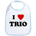 I Love TRIO Bib