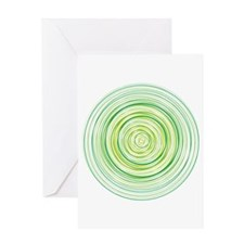 xbox rings Greeting Card