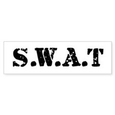 SWAT team Bumper Bumper Sticker