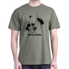 Bulldog Head Shot T-Shirt