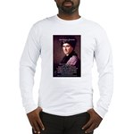 Jean Jacques Rousseau: Education Long Sleeve T-Shi