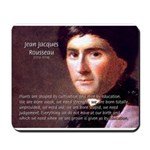 Jean Jacques Rousseau: Education Mousepad