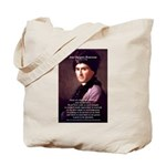 Jean Jacques Rousseau: Education Tote Bag