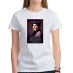 Jean Jacques Rousseau: Education Women's T-Shirt