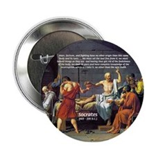 Death of Socrates Button