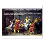Death of Socrates Small Poster