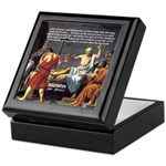 Death of Socrates Keepsake Box