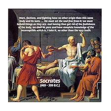 Death of Socrates Tile Coaster
