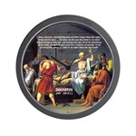 Death of Socrates Wall Clock