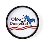 Ohio Democrat Wall Clock