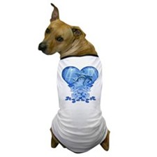 Dolphin Hearts Dog T-Shirt