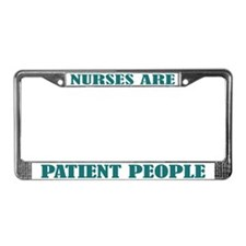 Nurse Nursing License Plate Frame