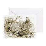 Frillback Pigeons Greeting Card
