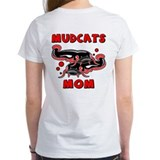 Mudcats Mom (front/back) Tee