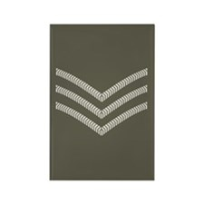 British Sergeant<BR> Rectangle Magnet