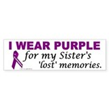 My Sister's Lost Memories Bumper Bumper Sticker