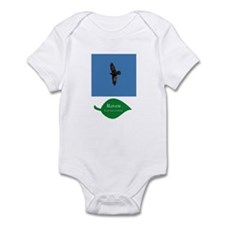 Raven in Flight Infant Bodysuit