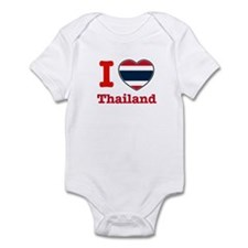 I love Thailand Infant Bodysuit