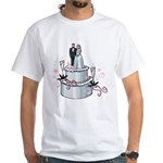 Wedding Cake White T-Shirt