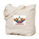 STEPHANIE superstar Tote Bag