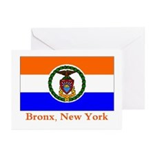 Bronx NY Flag Greeting Cards (Pk of 20)