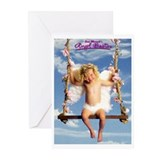 Angel Babies  Greeting Cards (Pk of 10)