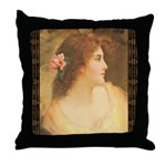 #195 Angel : Throw Pillow