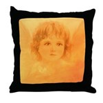 #196 Angel : Throw Pillow
