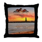 #181 Angel : Throw Pillow