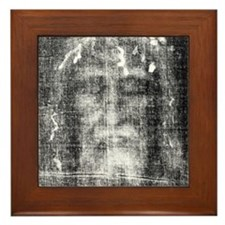 Shroud of Turin Framed Tile