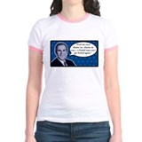 Fool me once. Jr. Ringer T-shirt