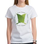 Live Green Think Green Women's T-Shirt