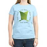 Live Green Think Green Women's Light T-Shirt